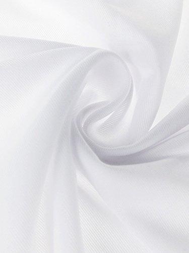 Herren Sexy Low Rise Ice Silk Retroshorts Trunks Unterwäsche Halbdurchsichtig Super Dünn Atmungsaktiv Basic - Einfarbig Rot Weiß