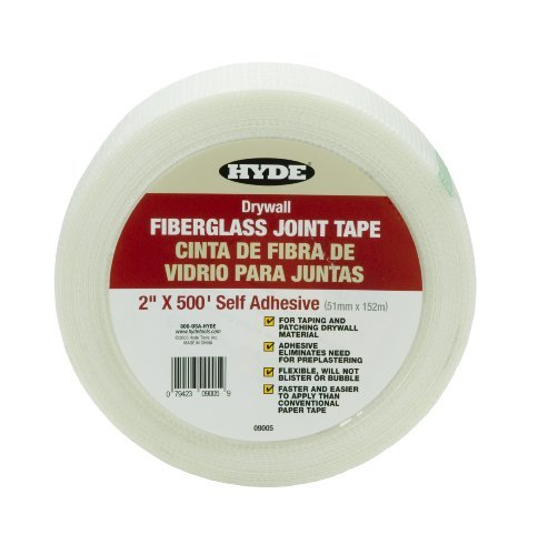 hyde-tools-9005-2-inch-by-500-feet-self-adhesive-fiberglass-joint-tape-by-hyde-tools