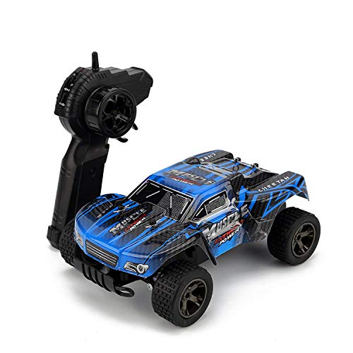 KINGBOT RC Cars, 1:18 Scale 2.4Ghz High Speed 20MPH/h Radio Control Cars Die-Cast Off-Road Vehicle with 50M Remote Control Racing Cars (Race Car)