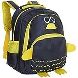 Moolecole Bolso Precioso Jardín De Infantes De La Escuela Pingüino Bolsa De Viaje Mochila Peces De Dibujos Animados 3d De Los Niños En Edad Preescolar