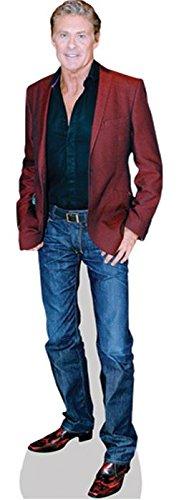Preisvergleich Produktbild David Hasselhoff (Jacket) Mini Cutout