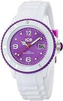 Reloj Ice-Watch SI.WV.U.S.11 de cuarzo unisex con correa de silicona, color blanco de Ice-Watch