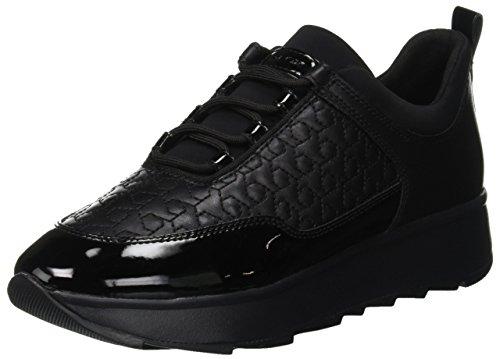 Geox D Gendry C, Zapatillas Mujer, Black C9999, 39