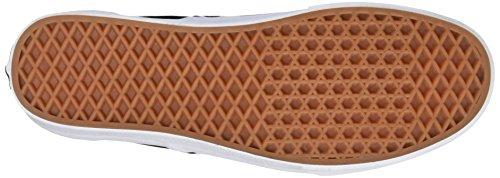 Vans Classic, Unisex-Erwachsene Sneakers Schwarz/Gold Kariert