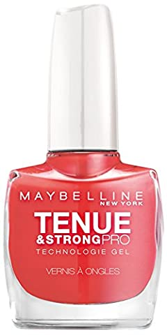 Maybelline New York Vernis à Ongles Tenue & Strong Pro 490 Rose Salsa