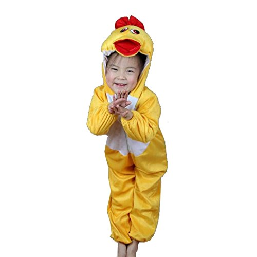Wgwioo Kindertier Performance Tanz Kostüme Kindergarten Gelbe Enten Sammlung Kinder Kostüm Schule Spiel Party Bekleidung Unisex Sets . 2# . (Kostüme Tanz Sammlung)