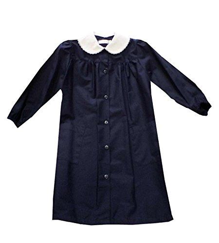 Grembiule scuola bambina ambrosino blu irma (75)