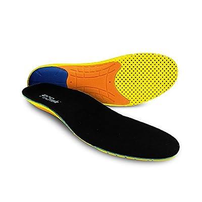 PCSsole Sport Einlagen für Laufschuhe Arbeitsstiefel Arch Support Schuh Fügt Stoßdämpfung und Polsterung Einlagen