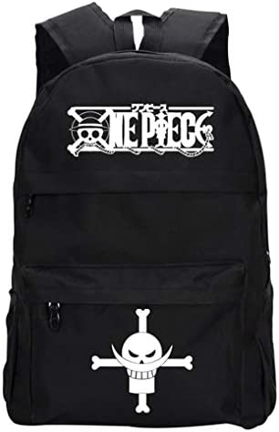 Cosstars One Piece Anime Sac à Dos, Sac Scolaire Tendance Backpack Cartable   Sale Online