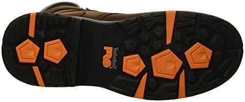 Timberland Pro Men s Helix HD 8  Soft Toe Waterproof Industrial Boot  Brown Full Grain Leather  14 W US