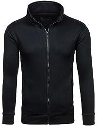 BOLF - Sweat-shirt - Pull de sport – Fermeture éclair - BOLF BO-02 - Homme