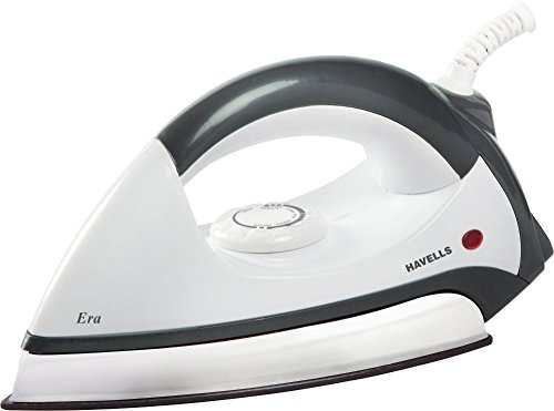 Havells Era 1000-Watt Dry Iron (Grey/White)