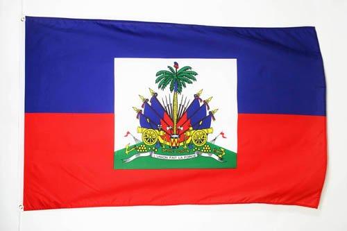 AZ FLAG Flagge Haiti 90x60cm - HAITIANISCHE Fahne 60 x 90 cm - flaggen Top Qualität