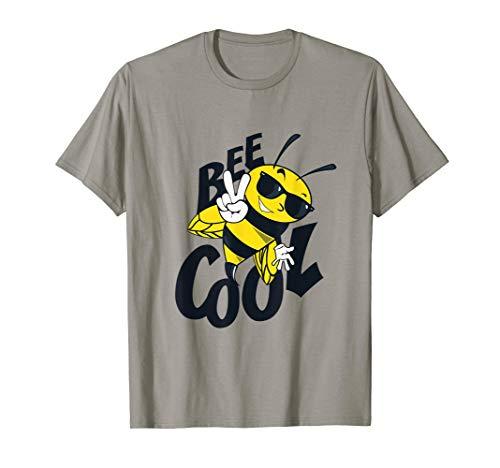 Bee Cool Tee. T-shirt für Jungen Mädchen Umwelt Schutz (Jungen Biene Kostüm)