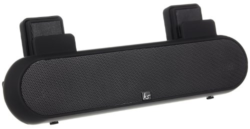 KitSound Universal Surround Sound Lautsprecher Ständer mit 3,5mm Klinkenstecker Kompatibel mit Smartphones, Tablets und MP3 Geräten einschl. iPhone 4/4S/5/5S/5C/SE/6/6 Plus/6S/6S Plus, iPad 2/3/4/Air/Mini/Pro, iPod Nano 7, iPod Touch 5, Samsung - Case-kino Iphone 5c