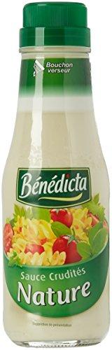 Benedicta Sauce Crudités 290 g - Lot de 4