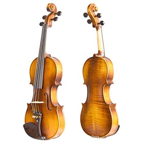YANG Violino Violino Autodidatta Principiante Figlio Adulto Esame Professionale Handmade Squisita Accessori Lavorazione Ebano, 2 Colori, 5 Formati yyfang (Color : A, Size : 1/4)