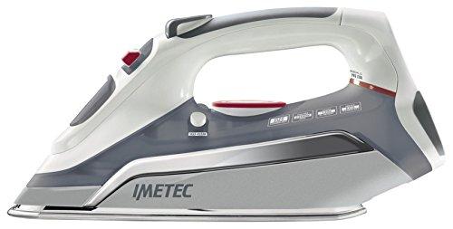 Imetec Zerocalc Pro 2300 Ferro da Stiro a Vapore con Piastra in Acciaio Inox da 2300 W