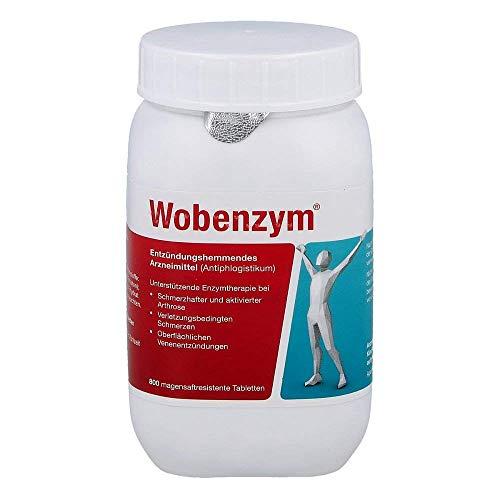 Wobenzym, 800 Tabletten inklusive einer Handcreme von vitenda.de