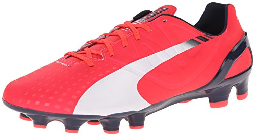 Puma Evospeed 2.3 sol ferme Chaussures de football Bright Plasma / White / Peacoat