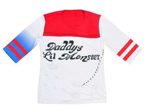 Suicide Squad Harley Quinn T-Shirt, Größe: (Kostüme Sexy Harley Quinn)