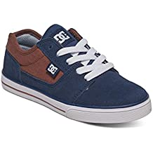 Dc Shoes Tonik - Zapatos para Chicos, Color: BROWN/BLUE, Talla: 36.5 EU (5.5 US / 4.5 UK) (Niños/Kids)