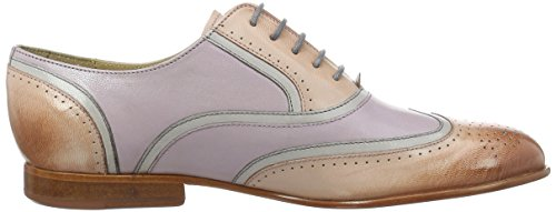 Melvin & Hamilton Sally, Chaussures à Lacets Femme, 38 EU Mehrfarbig (Salerno Pale Rose(1,5,9), Morning Grey(2,4,6,8), Pale Lila (3,7) LS NAT.)