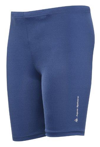 Aqua Sphere Jungen Short/Badehose Marly Jammer, Blau, Gr. 164 EU (Herstellergröße: 14 (Kostüme Trunk Kinder)