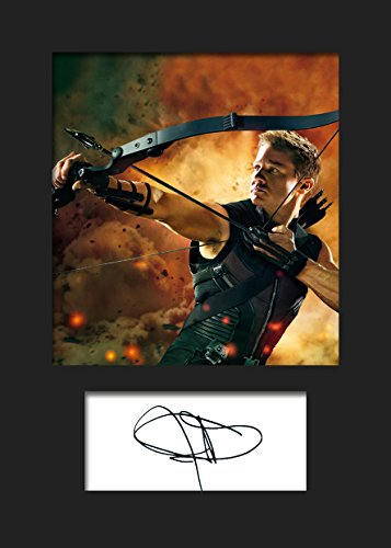 jeremy-renner-hawkeye-2-signed-mounted-photo-a5-print