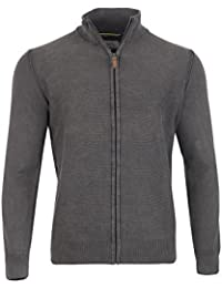 Camel Active Pull homme grande taille Gris
