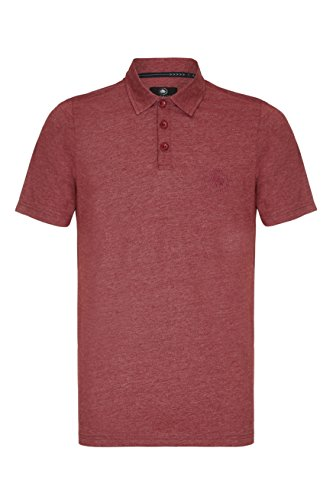 Barror London Herren Poloshirt Gr. XXXXXXXL, BURGUNDY MARL (Ralph Shirt Polo Lauren-cotton Fit Classic)