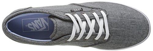Vans Wm Atwood Low, Sneakers Basses Femme Gris (Rock Textile)