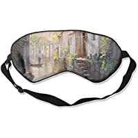 Sleep Eye Mask Little Town Lightweight Soft Blindfold Adjustable Head Strap Eyeshade Travel Eyepatch preisvergleich bei billige-tabletten.eu