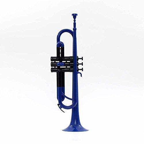 PAMPET Profesional Trompeta de plástico Trompeta bb (azul)