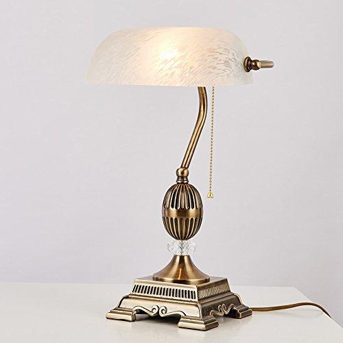 amerikanische-retro-stil-bank-schlafzimmer-nachttisch-kristall-tischlampe