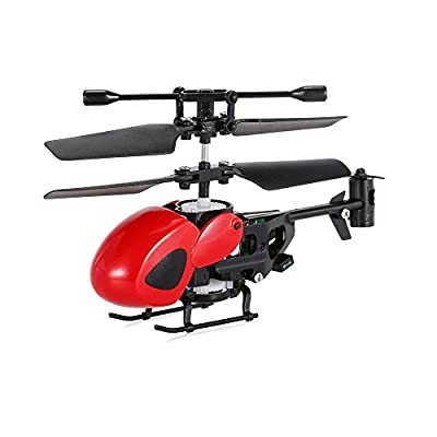Goolsky 2.5CH Micro Infrared Helicopter with Gyroscope RC Drone Aircraft