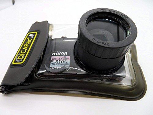 Canon Powershot A 490 / A 495 / A 800 - wasserdichte Kamerahülle von DiCAPAc - wasserdicht bis 10m IPX8