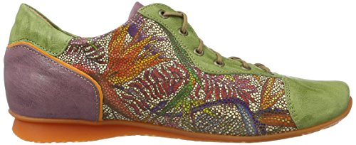 Think! Chilli 80110, Scarpe Stringate Donna Verde (Apfel/Kombi 59)
