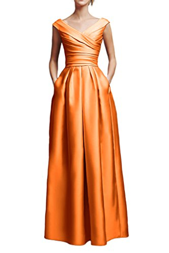 Missdressy - Robe - Trapèze - Femme Orange