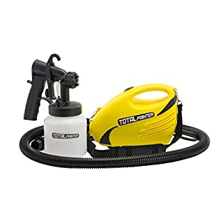 Total Painter Paint Sprayer Professional Spray Paint Gun for All Surfaces - Indoor and Outdoor - 800ml Capacity (Total Painter)