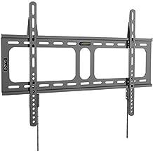 Eono Essentials - Soporte de pared fijo para televisión de 32-70 pulgadas - Capacidad de carga de 45 kg, VESA 600 x 400 mm