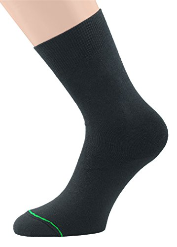 1000 Mile Original Sports Socks - Black, Medium/Size UK 6 - 8.5