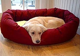 Gorgeous Luxurious Velvet Pet Bed for Dogs and Cats, (Large)
