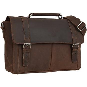 """Gusti Cuir studio """"Jensen"""" sac à bandoulière sac Notebook MacBook Pro 15,5"""" business serviette en cuir sac avec anse sac porté main porté épaules unisexe 2B23-20-4wp"""