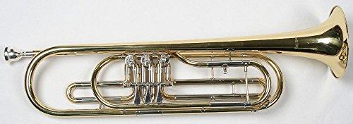Mit Koffer Und Mundstück Gold Sporting Basstrompete Marching Bariton
