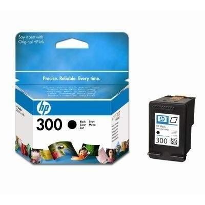 Original Tinte HP 300 , NO300 , Nr 300 CC640EE , CC640EEABB , CC640EEABD , CC640EEABE , CC640EEABF - Premium Drucker-Patrone - Schwarz - 200 Seiten - 4 ml - Drucker-tinte 2600 Series Hp