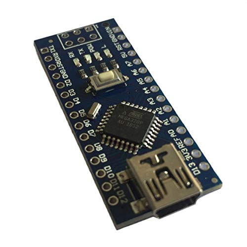 Mini Breadboard Friendly USB Nano V3.0 ATmega328 5V Micro Controller Regolatore di tensione per scheda Arduino compatibile-blu