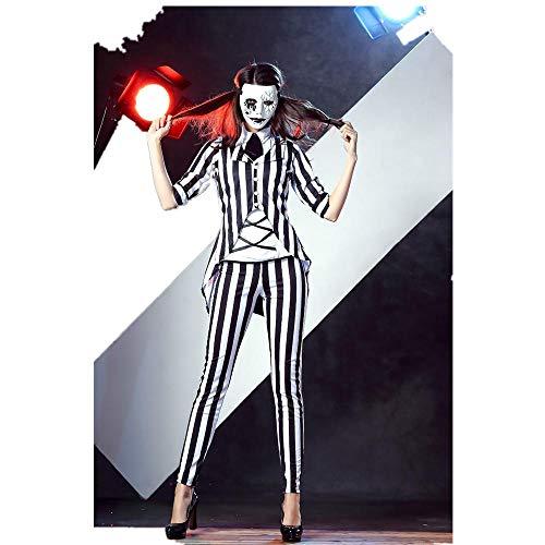 Kostüm Weibliche Zauberer - JRKJ Halloween Weibliches Spiel Cosplay Uniform Zauberer Leistungskostüm