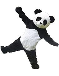Little Panda disfraz de mascota dibujos animados halloween party dress Tamaño para adultos