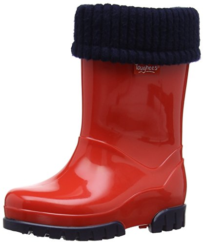 Toughees Unisex-Child Roll Top Welly Boots